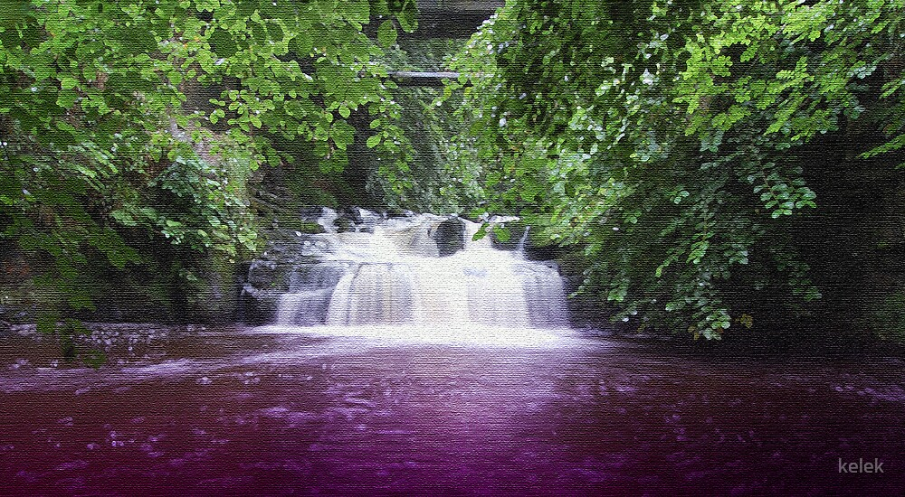 Purple Water by kelek