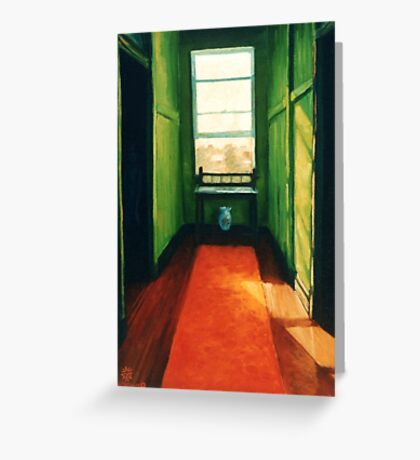 If these walls could talk Greeting Card