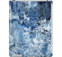 Ebb and flow across lost ice paradise iPad Case/Skin