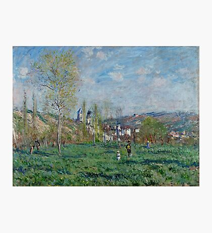 Claude Monet - Spring In Vethuil (1880) Photographic Print