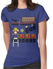 Super Block Factory Womens Fitted T-Shirt
