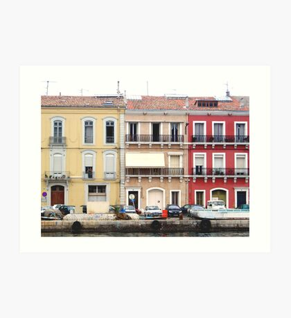 Sete Homes by the Harbour Art Print