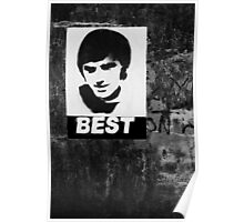 George Best The One Poster