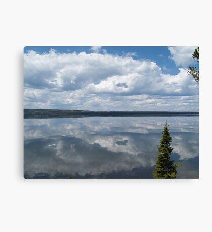 Lewis Lake Mirror Canvas Print