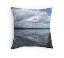 Lewis Lake Mirror Throw Pillow