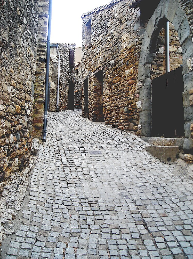 Cobbled Street by rljohns