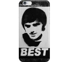 George Best Mono iPhone Case/Skin