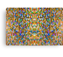 Lost in the Crowd Canvas Print