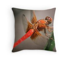 Red Ferrari Dragon Throw Pillow