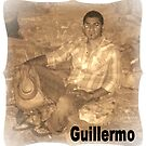 GUILLERMO SITTING FOR PORTRAIT by francelle  huffman