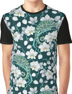 chameleons and orchids  Graphic T-Shirt