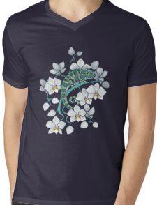 chameleons and orchids  Mens V-Neck T-Shirt