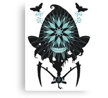 Flight of the Reaper Moth Canvas Print