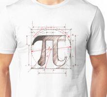 Pi Symbol Sketch Unisex T-Shirt