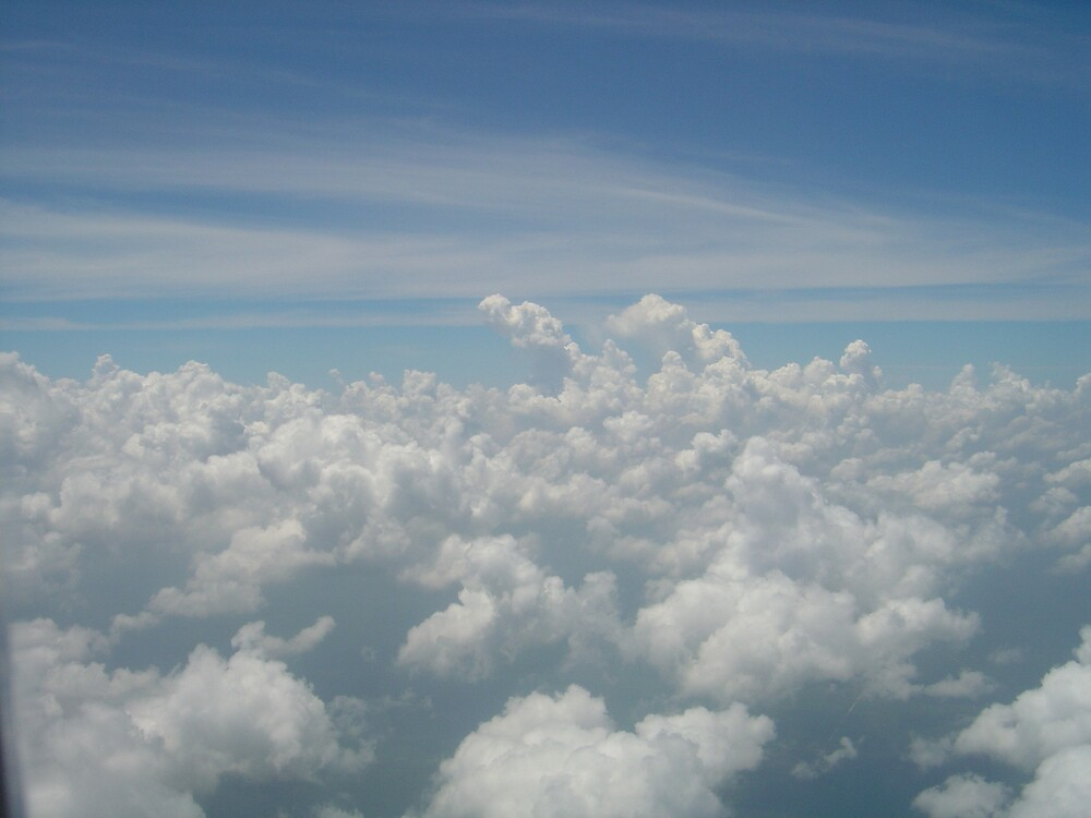 above the clouds by Christian Montes