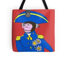 Admiral Monkey Tote Bag