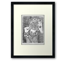 My sweet clever pussycat Framed Print