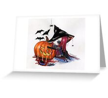 Halloween: Wicked Witch Greeting Card