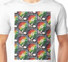 Computer Hard Drive Collage Unisex T-Shirt