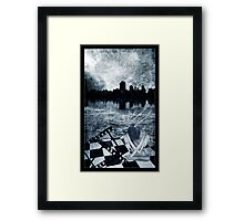 Frozen Memories Framed Print