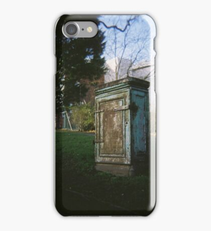 Telephone Exchange Erias Park iPhone Case/Skin