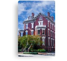 Historic Savannah Mansion Canvas Print