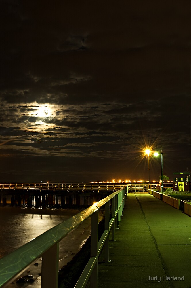 Shorncliffe Pier, Queensland by J Harland