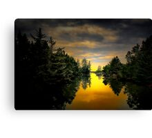 Give It Your All ~ Siltcoos River  ~ Canvas Print
