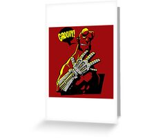 Groovy! Greeting Card