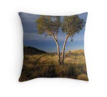 Pilbara Gold Throw Pillow