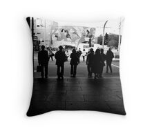 Waiting for the Lights to Change Throw Pillow