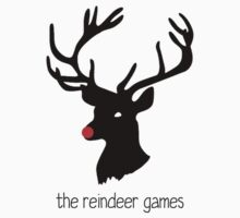 The Reindeer Games (black) Kids Clothes