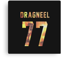 Dragneel jersey #77 Canvas Print