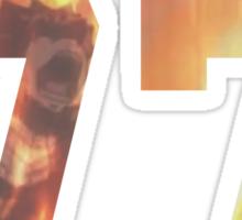 Dragneel jersey #77 Sticker