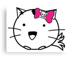 Fuzzballs Kitten Bow Canvas Print