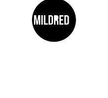Mildred Logo Tee (Soft Butch Version) by Mildred George