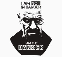 Breaking Bad - Heisenberg - I am the danger! T-shirt by gstoyanov