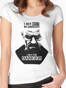 Breaking Bad - Heisenberg - I am the danger! T-shirt Women's Fitted Scoop T-Shirt