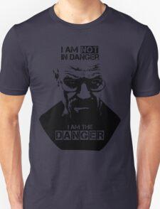 Breaking Bad - Heisenberg - I am the danger! T-shirt Unisex T-Shirt