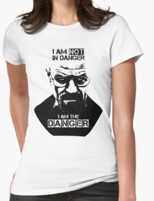 Breaking Bad - Heisenberg - I am the danger! T-shirt Womens Fitted T-Shirt