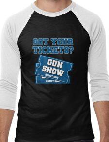 Got Your Tickets To The Gun Show? Men's Baseball ¾ T-Shirt