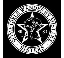 The Sisters of Mercy - The World's End - Some Girls Wander by Mistake Photographic Print