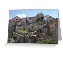 Dubrovnik, Croatia - extras from Game of Thrones Greeting Card