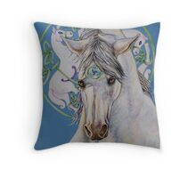 Epona-The Great Mare Throw Pillow