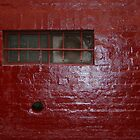 "Melbourne Painted Brick Wall Photograph  - ""Red"" by CDCcreative"
