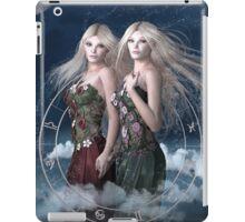 Gemini zodiac fantasy circle iPad Case/Skin