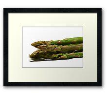 Fresh Asparagus Framed Print