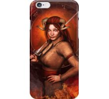 Aries from my Fantasy Zodiac Circle iPhone Case/Skin