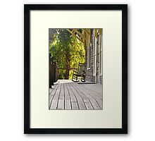 In the Autum of Life  Framed Print