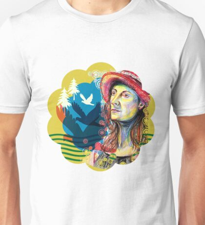 Face Portraits sketched to tell stories Unisex T-Shirt